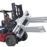 Bale Clamp Forklift Attachments Waste Paper Bale Bale Clamp
