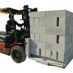 Hidraŭlika Forklift Betona Brikso / Bloko Levantaj Krampo