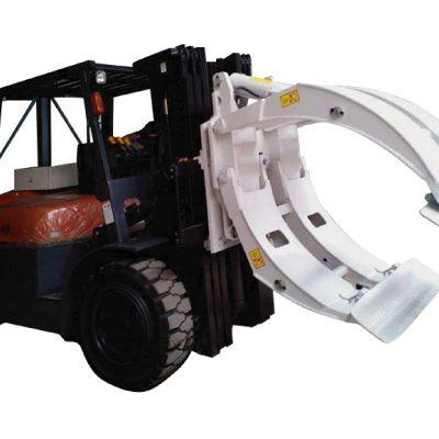 Klaso 2 Forklift-Aldonaĵo Rotacanta Paper-Rampilon