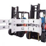 Forklift-Partoj Forklift-Aldonaĵoj Ŝtala Rotator-Papera Ruliĝa Krampo