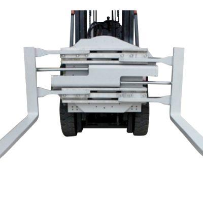 Klaso 2 Forklift-Aldonaĵo Rotacianta Forka Krampo Kun Longa 1220 mm